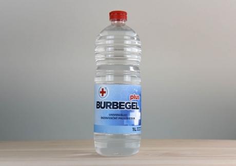 BURBEGEL dezinfekčný prípravok