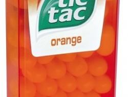 TIC-TAC cukríky pomaranč