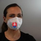 Ochranný respirátor FFP2 so znakom Slovenska