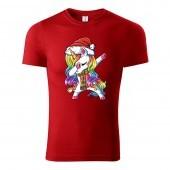 Tričko Vianočný Unicorn unisex