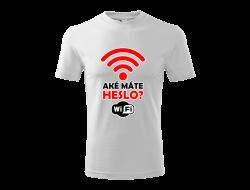 Tričko WiFi unisex