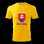 Tričko SLOVAKIA unisex