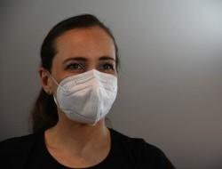 Ochranný respirátor FFP2 bez výdychového ventilu