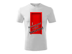 Tričko Nakupovať unisex