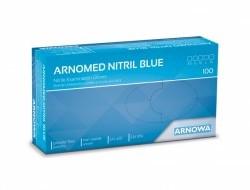 Jednorázové nitrilové rukavice modré L - 100 kusov