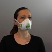 SET: 3 ks balenie ochranných rúšok + Ochranný respirátor FFP3