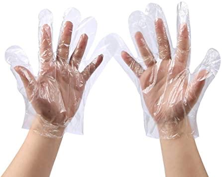 Jednorázové mikroténové rukavice (100 ks)