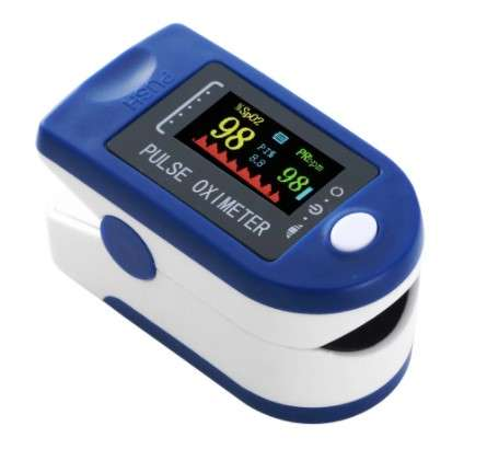 Pulzometer / prstový pulzný oxymeter